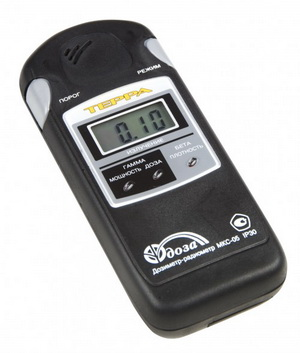 Прибор для измерения радиации – помощь в выборе участка.